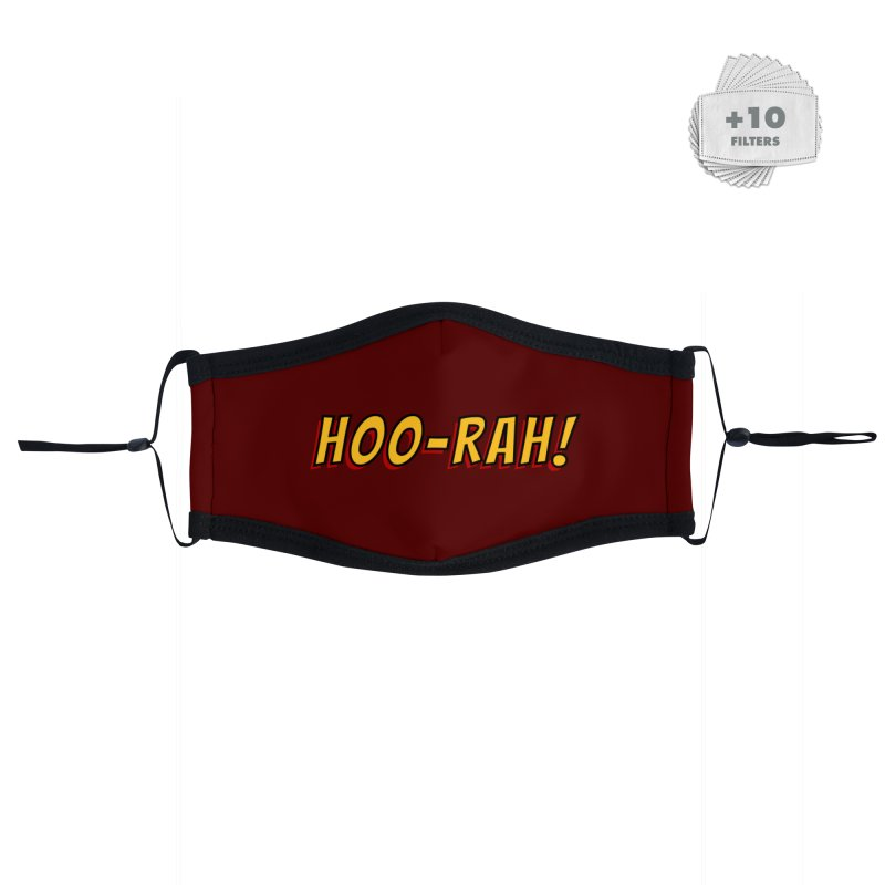 HOO-RAH! Accessories Face Mask by The Legends Casts's Shop