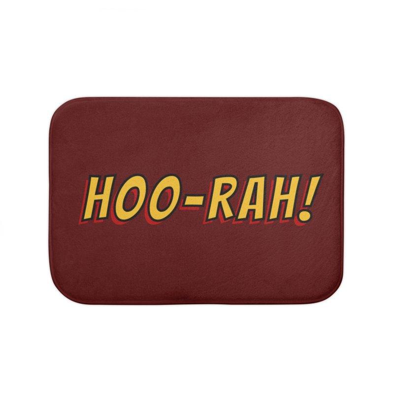 HOO-RAH! Home Bath Mat by The Legends Casts's Shop