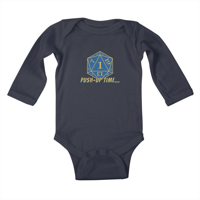 Push Up Time... Kids Baby Longsleeve Bodysuit by The Legends Casts's Shop