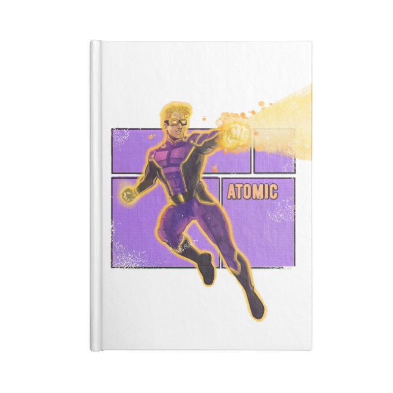 ATOMIC Accessories Notebook by The Legends Casts's Shop
