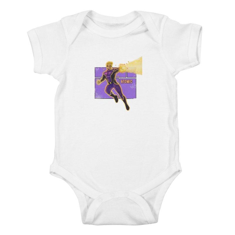 ATOMIC Kids Baby Bodysuit by The Legends Casts's Shop