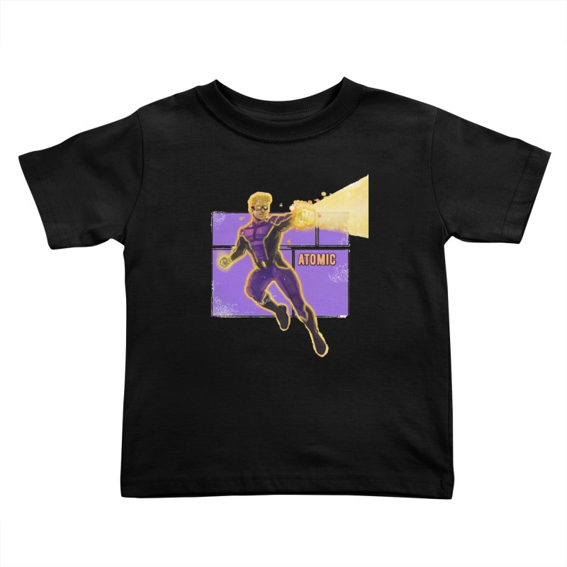 ATOMIC Kids Toddler T-Shirt by The Legends Casts's Shop