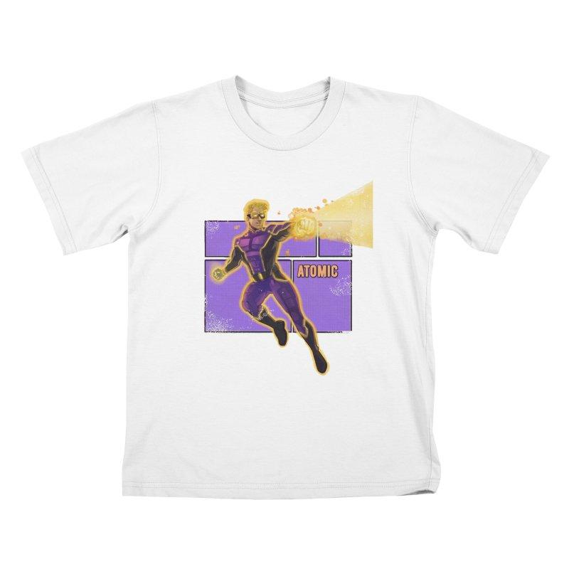 ATOMIC Kids T-Shirt by The Legends Casts's Shop