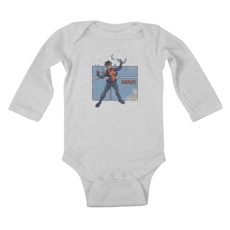 IMPACT Kids Baby Longsleeve Bodysuit by The Legends Casts's Shop