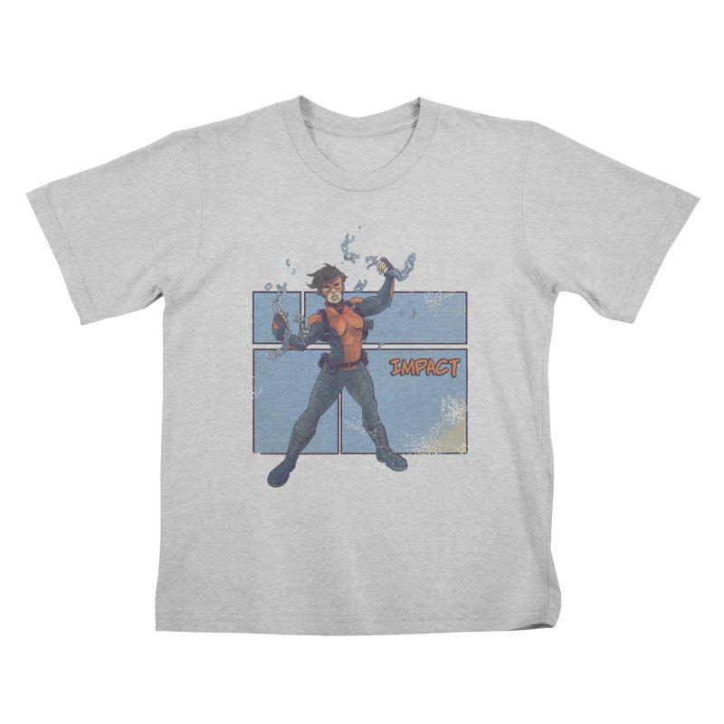 IMPACT Kids T-Shirt by The Legends Casts's Shop