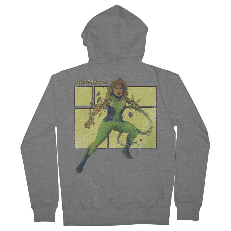 PERSEPHONE Women's Zip-Up Hoody by The Legends Casts's Shop