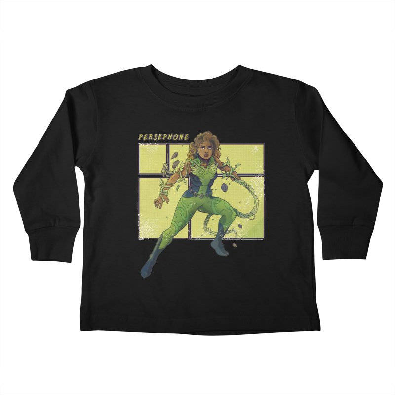 PERSEPHONE Kids Toddler Longsleeve T-Shirt by The Legends Casts's Shop