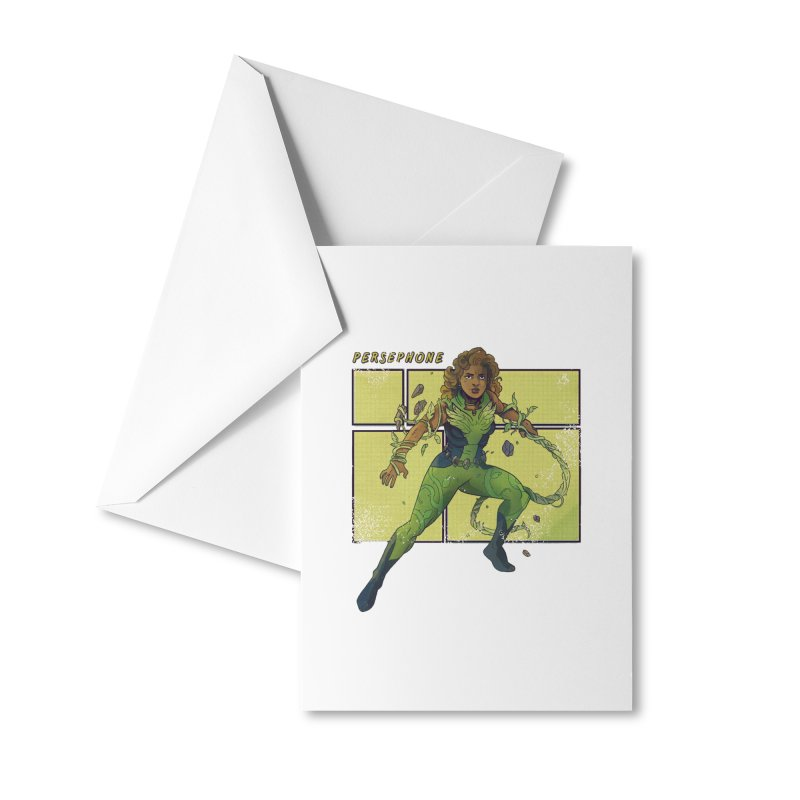PERSEPHONE Accessories Greeting Card by The Legends Casts's Shop