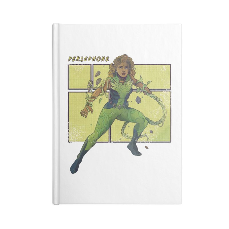 PERSEPHONE Accessories Notebook by The Legends Casts's Shop