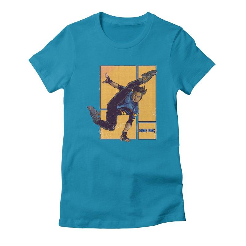 DUSK FOX Women's T-Shirt by The Legends Casts's Shop