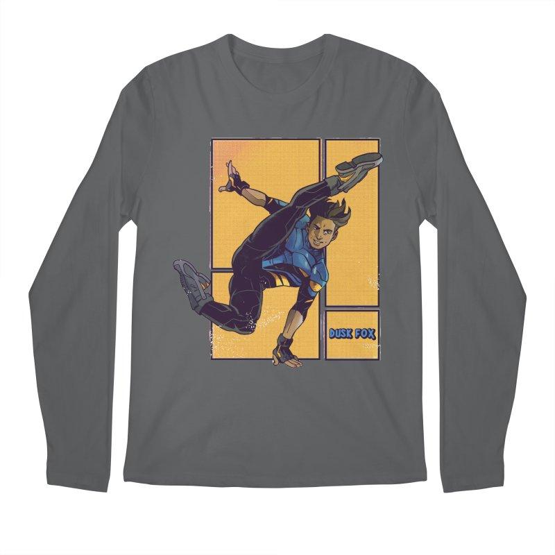 DUSK FOX Men's Longsleeve T-Shirt by The Legends Casts's Shop