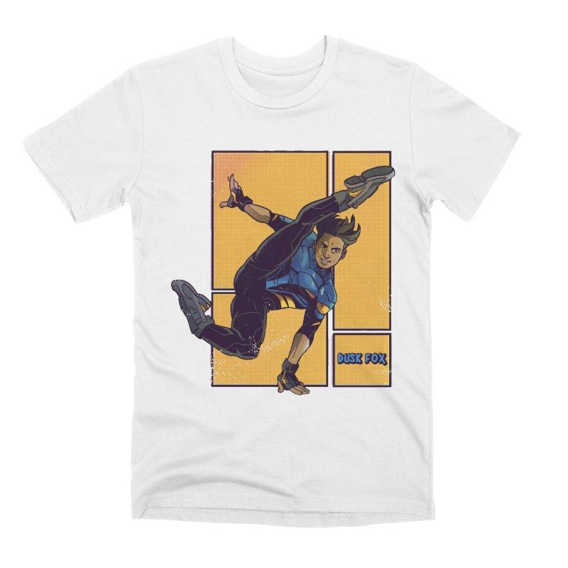 DUSK FOX Men's T-Shirt by The Legends Casts's Shop