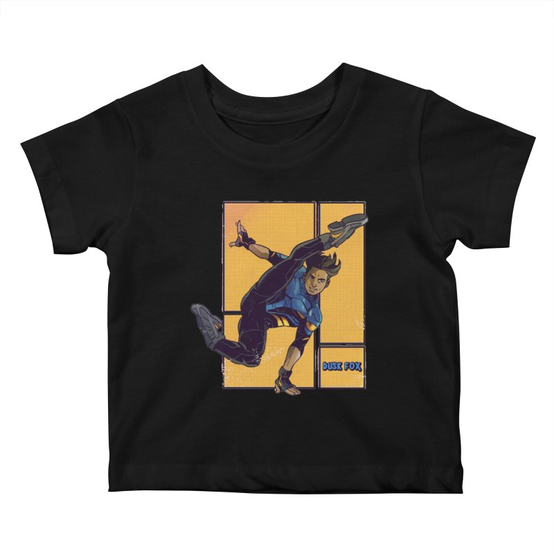 DUSK FOX Kids Baby T-Shirt by The Legends Casts's Shop