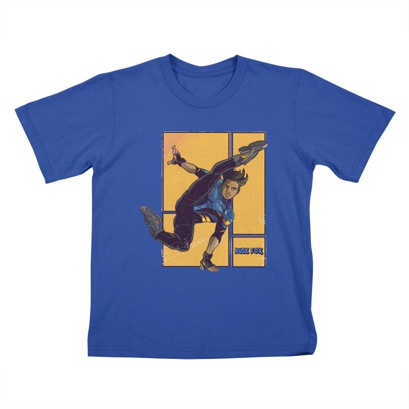 DUSK FOX Kids T-Shirt by The Legends Casts's Shop