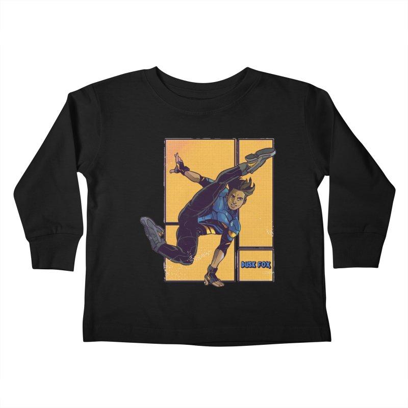 DUSK FOX Kids Toddler Longsleeve T-Shirt by The Legends Casts's Shop