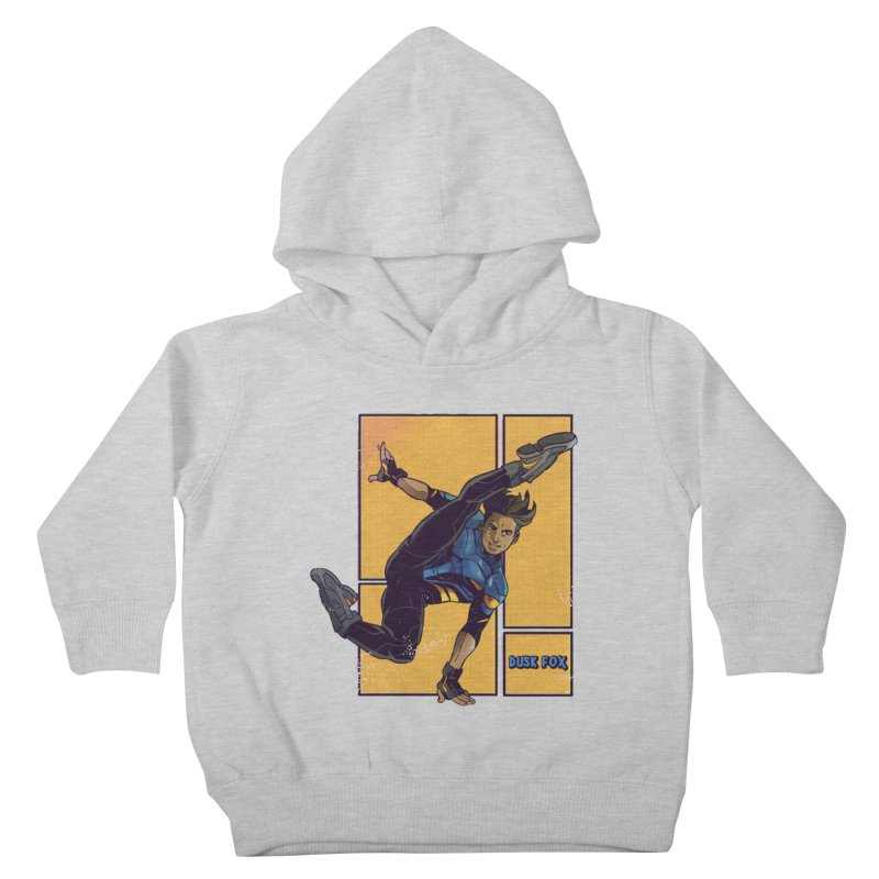 DUSK FOX Kids Toddler Pullover Hoody by The Legends Casts's Shop