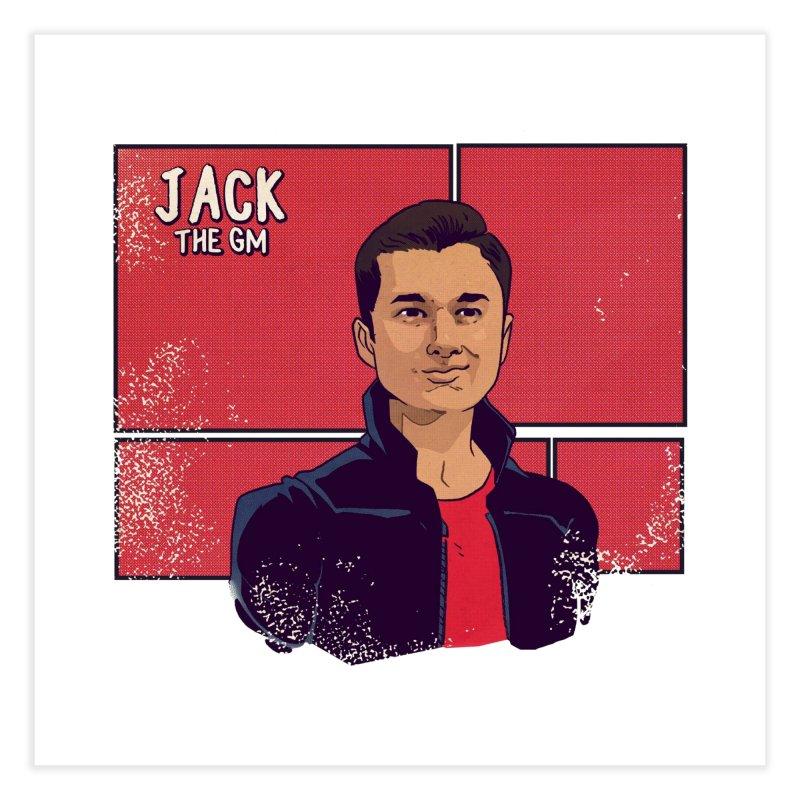 PAPA JACK Home Fine Art Print by The Legends Casts's Shop