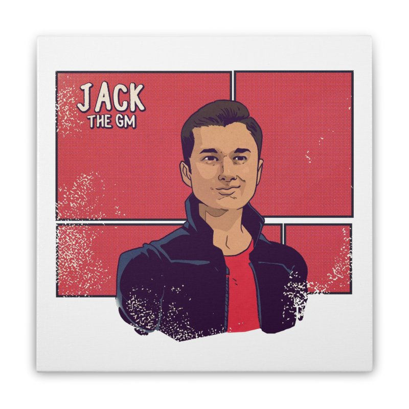 JACK Home Stretched Canvas by The Legends Casts's Shop