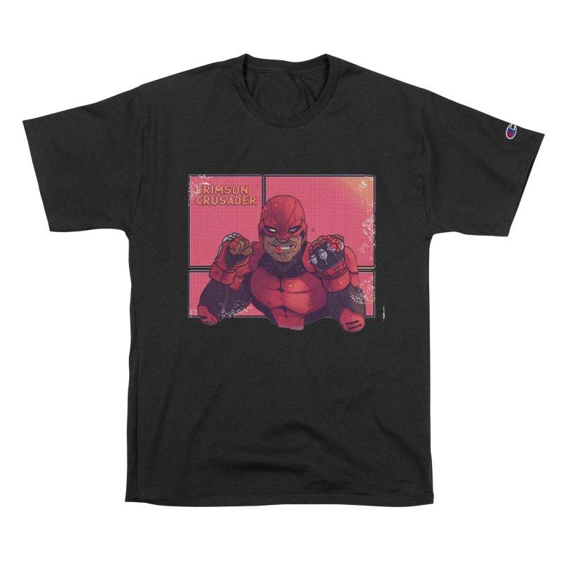 CRIMSON CRUSADER Men's T-Shirt by The Legends Casts's Shop