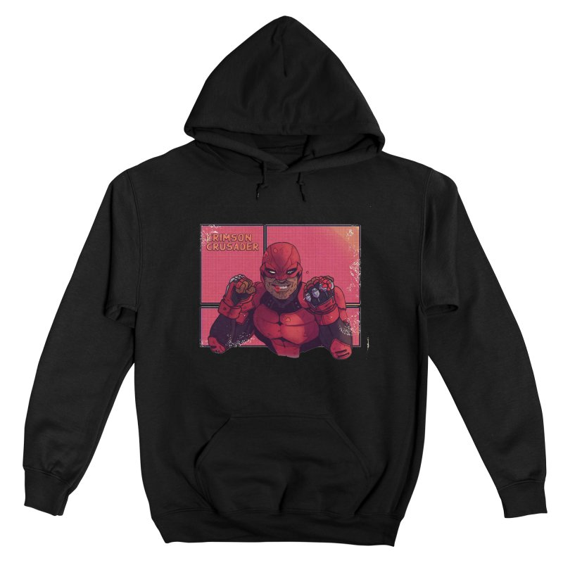 CRIMSON CRUSADER Men's Pullover Hoody by The Legends Casts's Shop