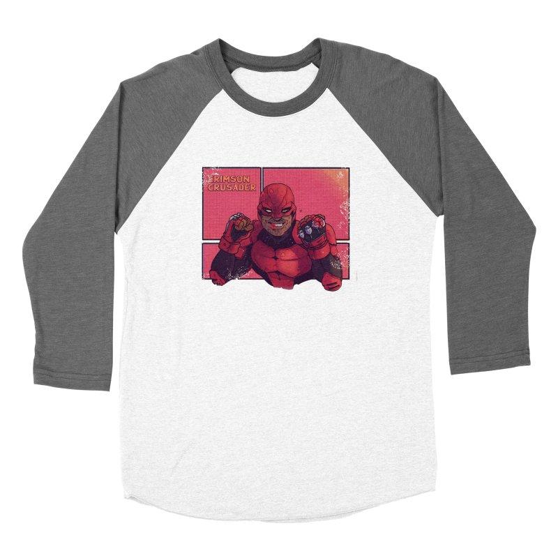 CRIMSON CRUSADER Women's Longsleeve T-Shirt by The Legends Casts's Shop