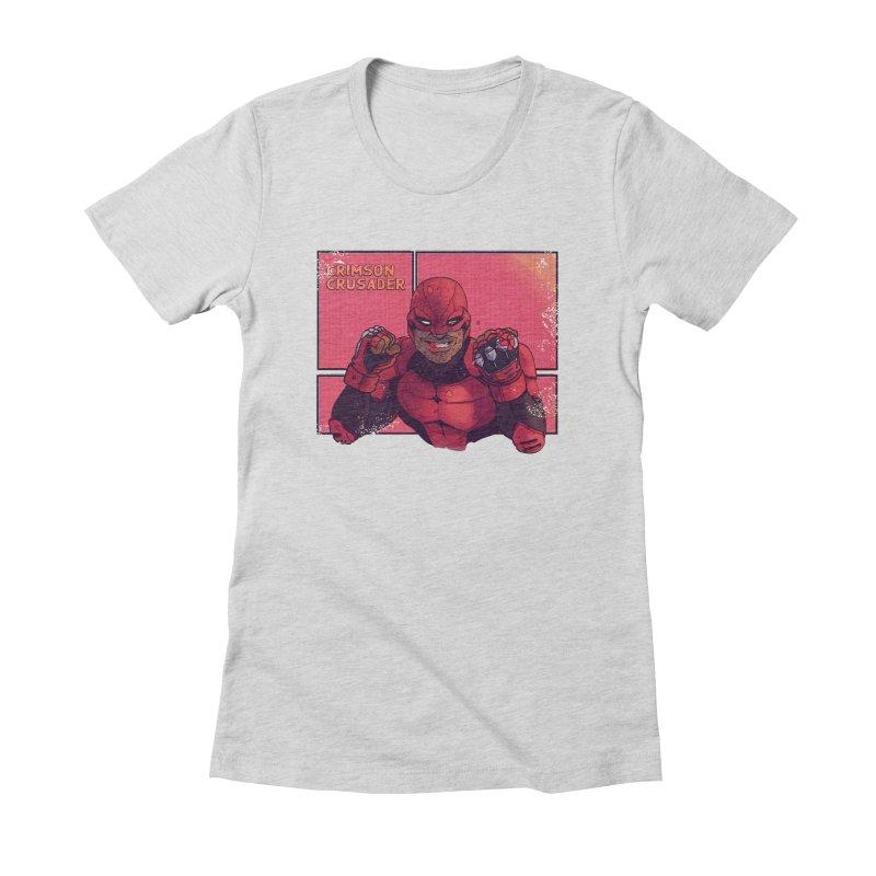 CRIMSON CRUSADER Women's T-Shirt by The Legends Casts's Shop