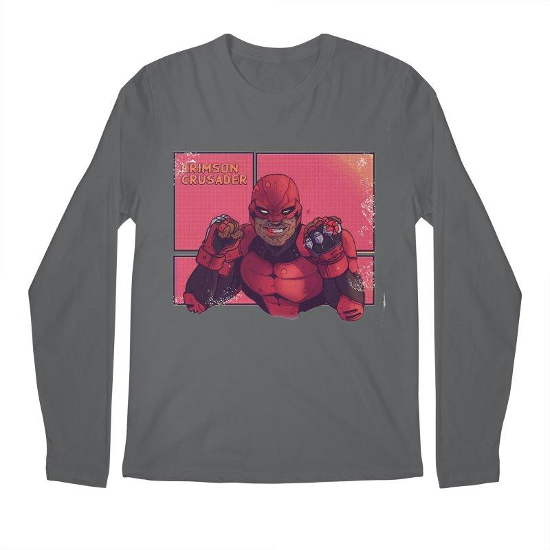 CRIMSON CRUSADER Men's Longsleeve T-Shirt by The Legends Casts's Shop