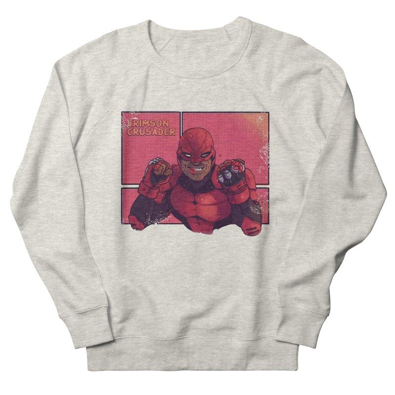 CRIMSON CRUSADER Men's Sweatshirt by The Legends Casts's Shop