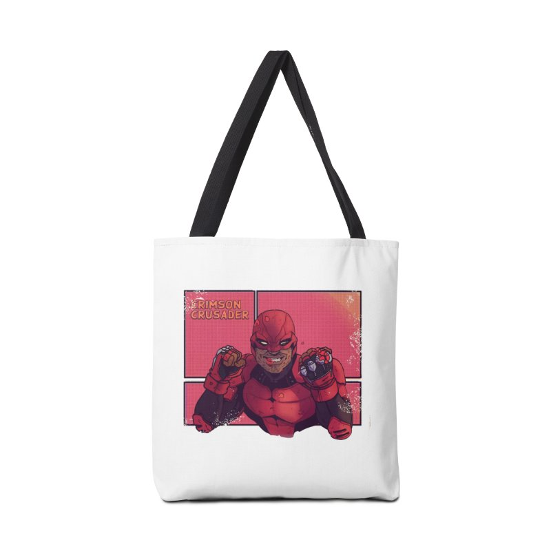 CRIMSON CRUSADER Accessories Bag by The Legends Casts's Shop