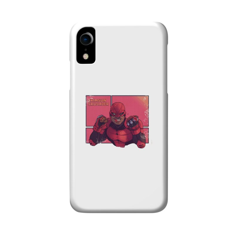 CRIMSON CRUSADER Accessories Phone Case by The Legends Casts's Shop