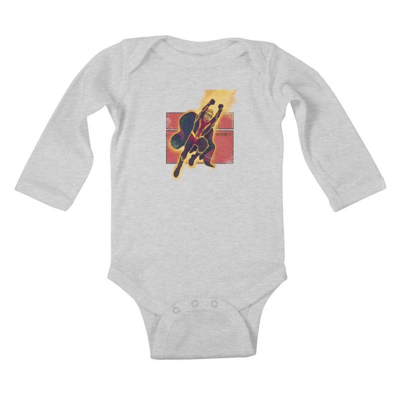 UNITED Kids Baby Longsleeve Bodysuit by The Legends Casts's Shop