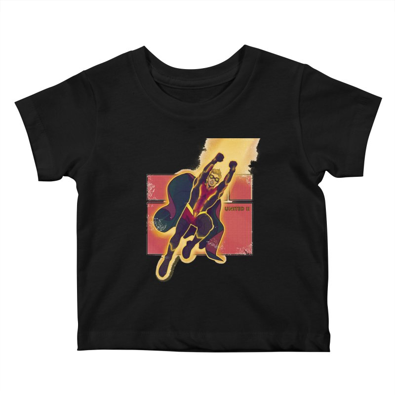 UNITED Kids Baby T-Shirt by The Legends Casts's Shop