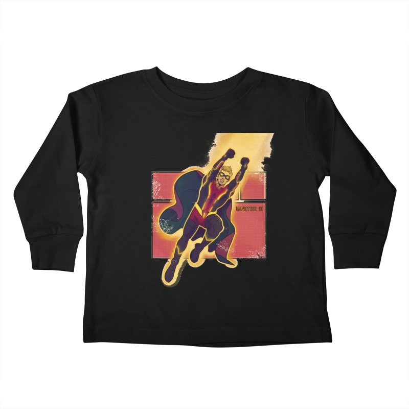 UNITED Kids Toddler Longsleeve T-Shirt by The Legends Casts's Shop