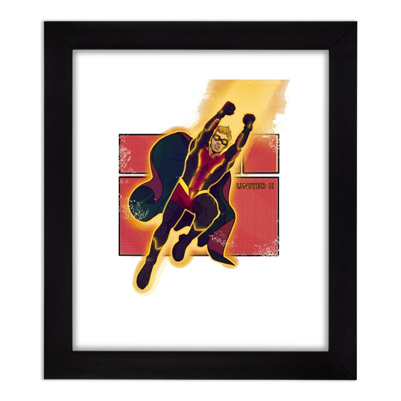 UNITED Home Framed Fine Art Print by The Legends Casts's Shop