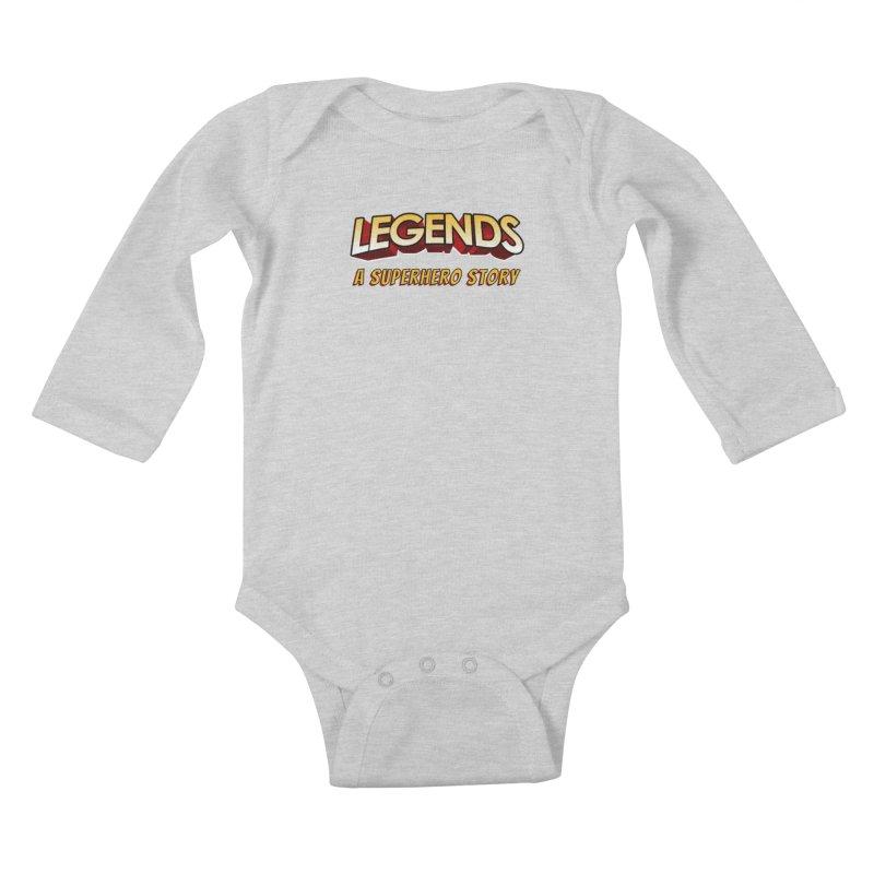 Legends: A Superhero Story (no dice) Kids Baby Longsleeve Bodysuit by The Legends Casts's Shop