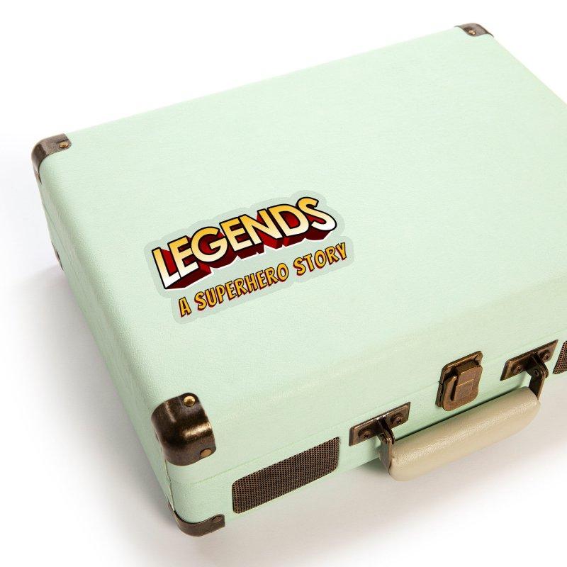 Legends: A Superhero Story (no dice) Accessories Sticker by The Legends Casts's Shop