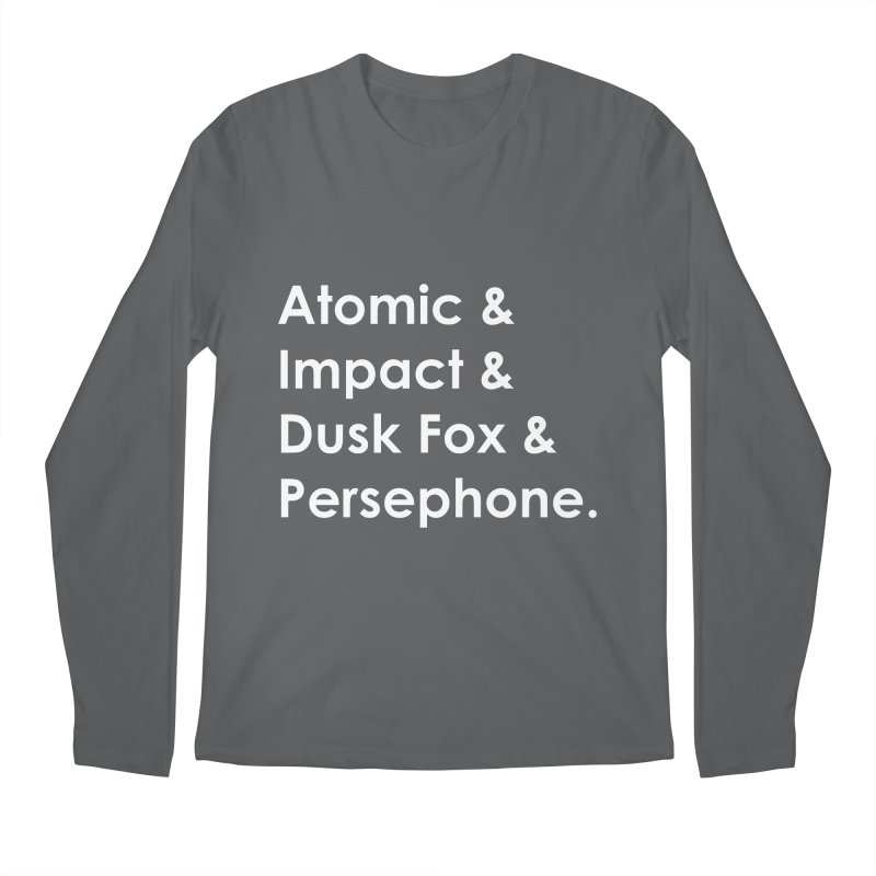 The Dynamos - Hero Names Men's Longsleeve T-Shirt by The Legends Casts's Shop