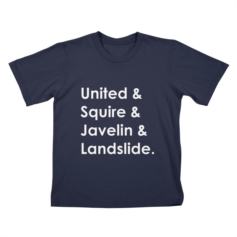 The New Centurions - Hero Names Kids T-Shirt by The Legends Casts's Shop