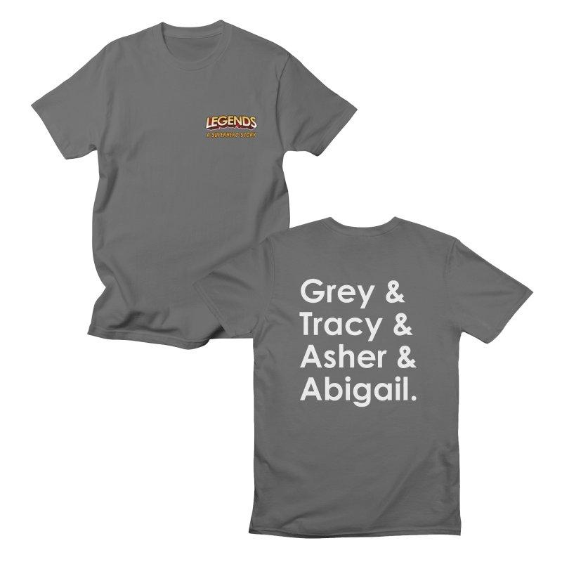 Secret Identities Men's T-Shirt by The Legends Casts's Shop