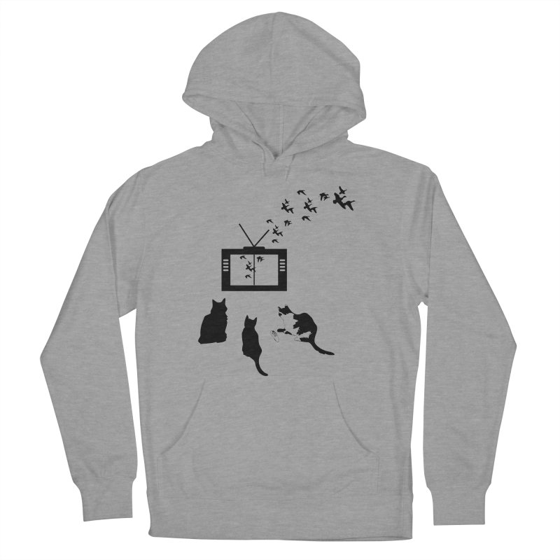 BirbTV Women's French Terry Pullover Hoody by theletterandrew's Artist Shop
