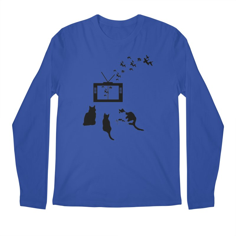 BirbTV Men's Longsleeve T-Shirt by theletterandrew's Artist Shop