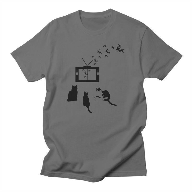 BirbTV Men's T-Shirt by theletterandrew's Artist Shop