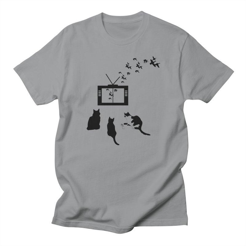 BirbTV Men's Regular T-Shirt by theletterandrew's Artist Shop