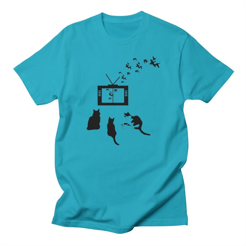 BirbTV Women's Regular Unisex T-Shirt by theletterandrew's Artist Shop
