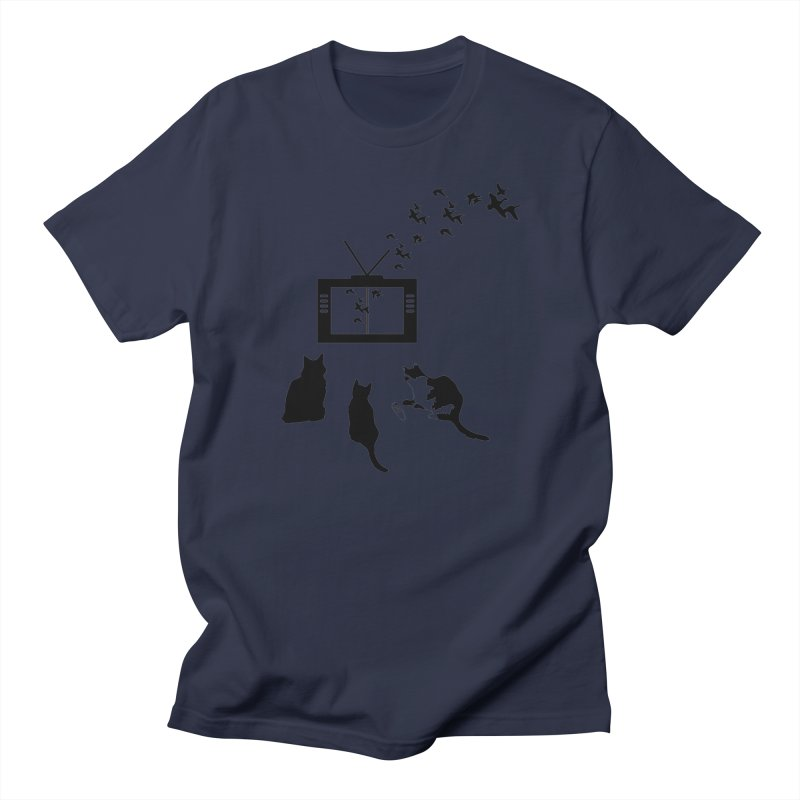 BirbTV Men's T-Shirt by theletterandrew's Artist Shop
