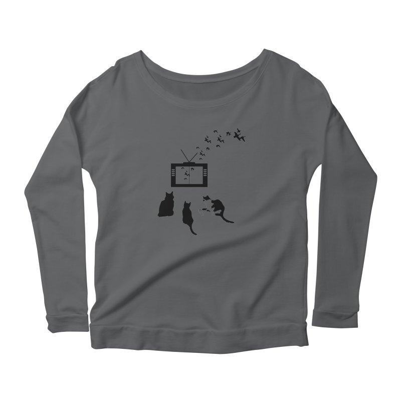 BirbTV Women's Longsleeve T-Shirt by theletterandrew's Artist Shop