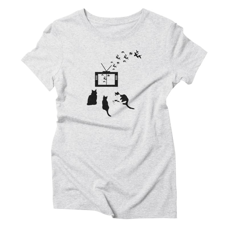 BirbTV Women's T-Shirt by theletterandrew's Artist Shop