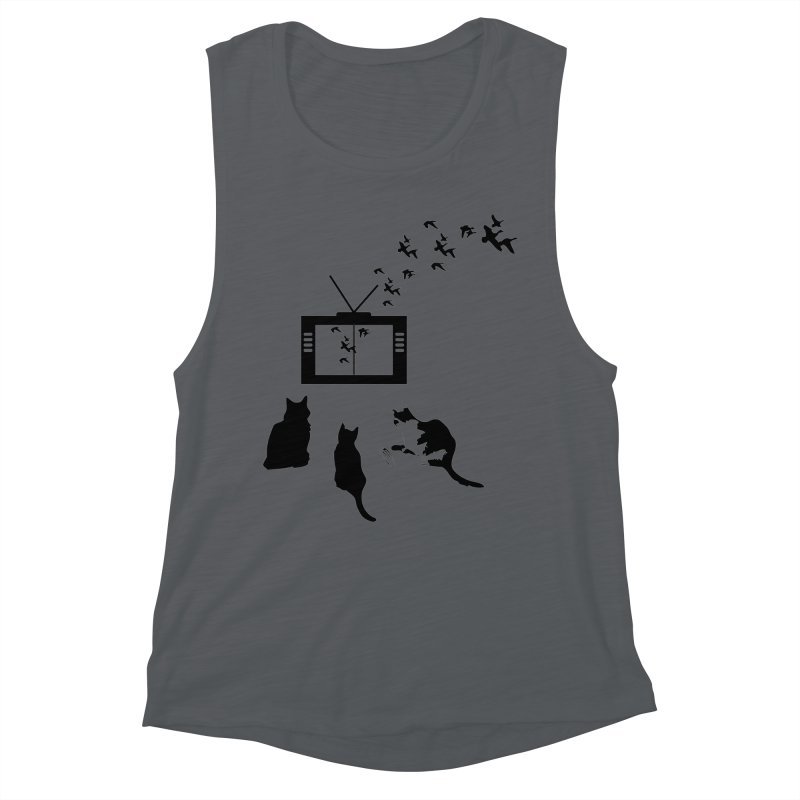 BirbTV Women's Tank by theletterandrew's Artist Shop