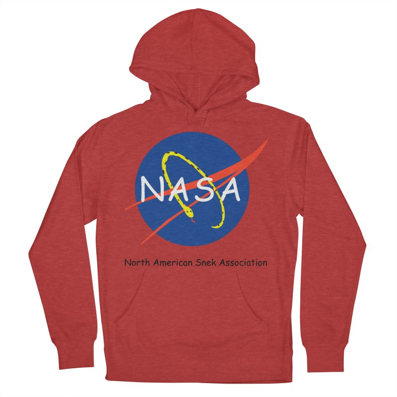 NASA- North American Snek Association Women's French Terry Pullover Hoody by theletterandrew's Artist Shop