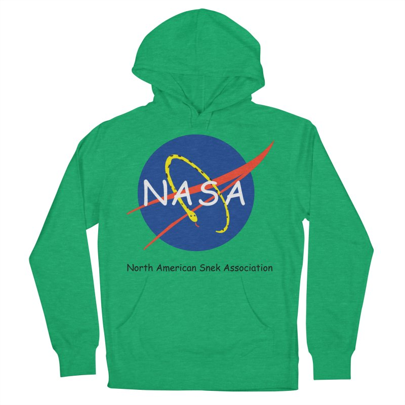 NASA- North American Snek Association Men's French Terry Pullover Hoody by theletterandrew's Artist Shop